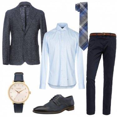 Outfit Ufficio in cravatta