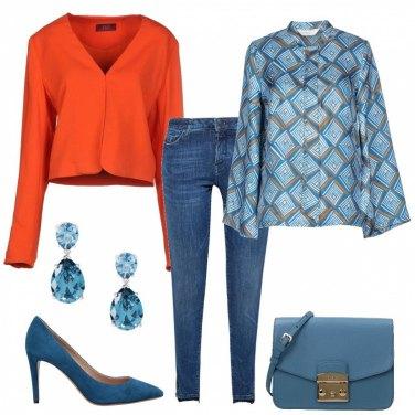 Outfit Orange crush