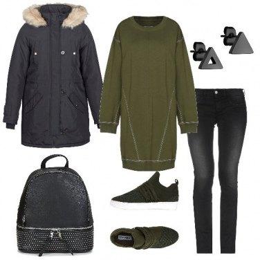 Outfit Comoda studentessa
