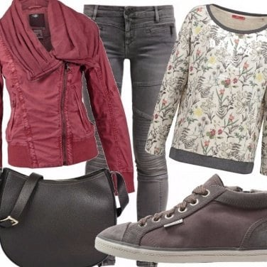 Outfit Botanica autunnale