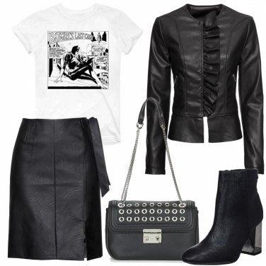 Outfit Women in rock