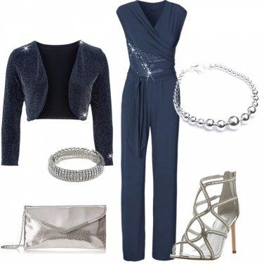 Outfit Raffinata in tuta