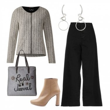 Outfit Giacca Chanel