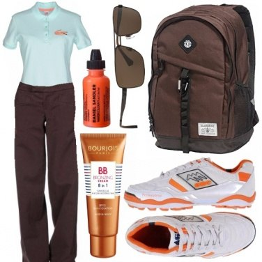 Outfit Cioccolato all\'arancia