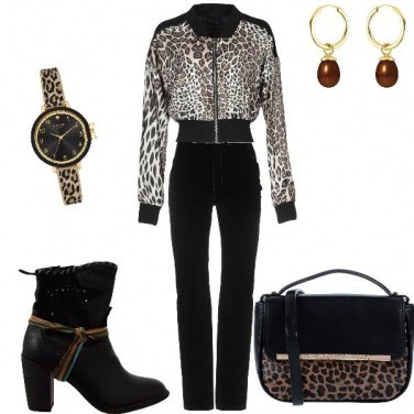 Outfit Tutto animalier