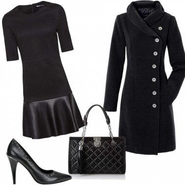 Outfit Domenica total black