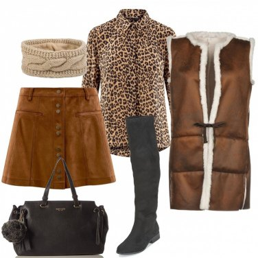 Outfit Casual animalier