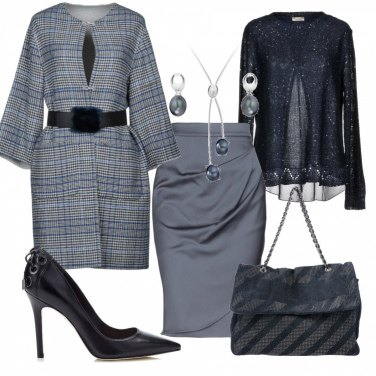 Outfit Un po\'di blu, un po\' di grigio