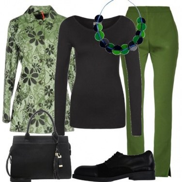 Outfit A tutto verde