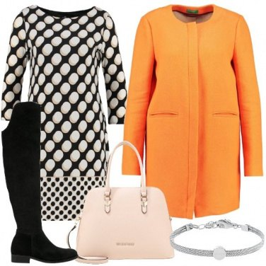 Outfit Pois e colore