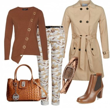 Outfit Mimetica per la città
