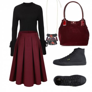 Outfit Comodamente femminile