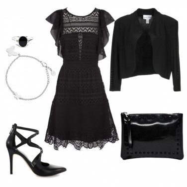 Outfit Eleganza in nero