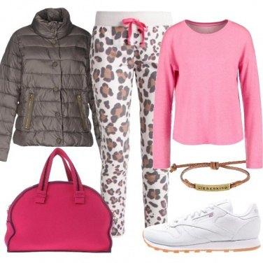 Outfit Pantaloni animalier