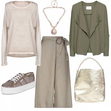 Outfit Sabbia dorata