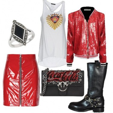 Outfit Rock all night long