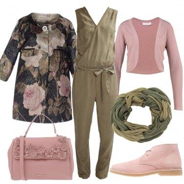 Outfit Salvia e rose