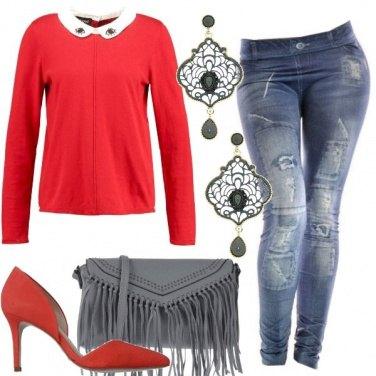 Outfit Seducente con il rosso
