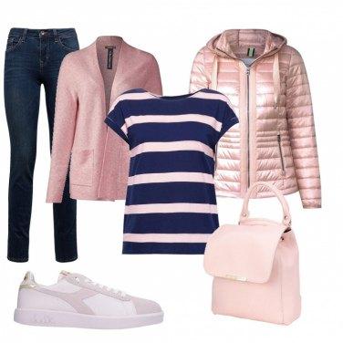 Outfit Romantiche righe