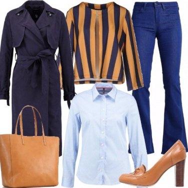 Outfit Cognac