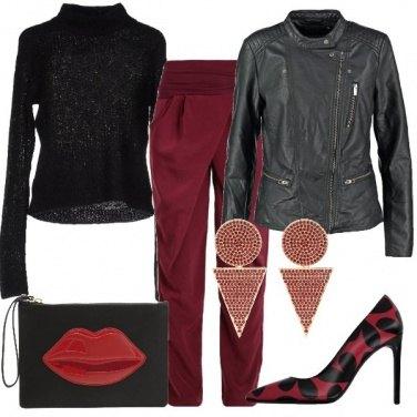 Outfit La bocca rossa