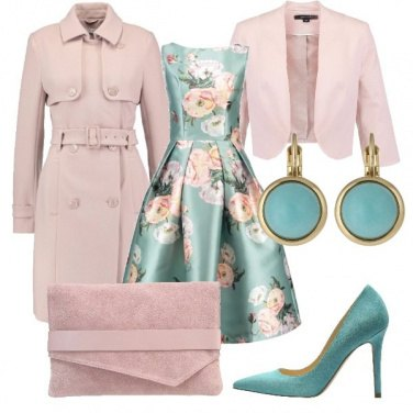 Outfit Floreale e romantica