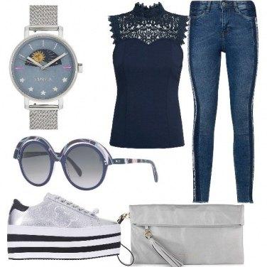 Outfit Pomeriggio a fare shopping