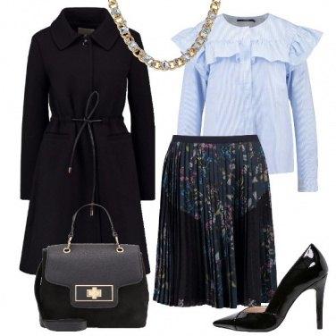 Outfit Volants e plissé