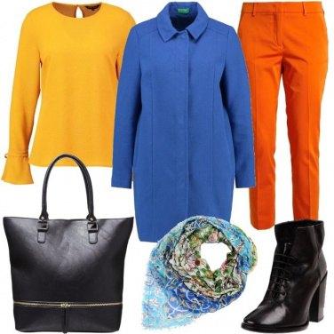 Outfit Porta il colore in ufficio