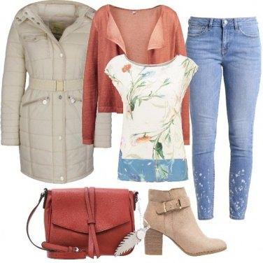 Outfit Comodamente in jeans