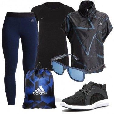 Outfit Geometrie sportive