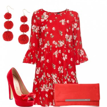 Outfit Rosso fire