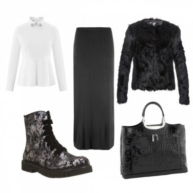 Outfit Mary Poppins del XXI secolo
