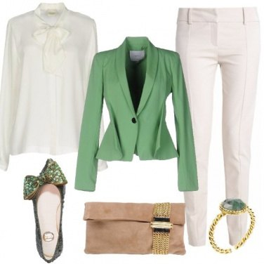 Outfit Cerimonia con ballerine