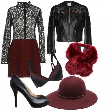 Outfit San Valentino trasgressivo