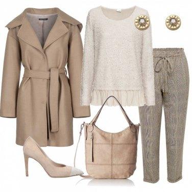 Outfit Ho voglia di beige