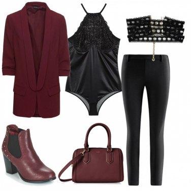 Outfit Body e blazer