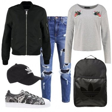 Outfit A scuola di hip hop