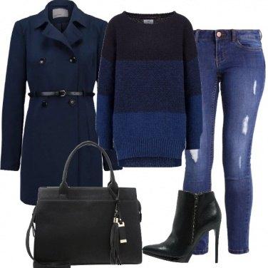 Outfit Petite in blu