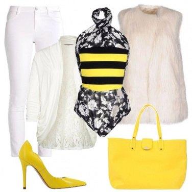 Outfit Un top particolare