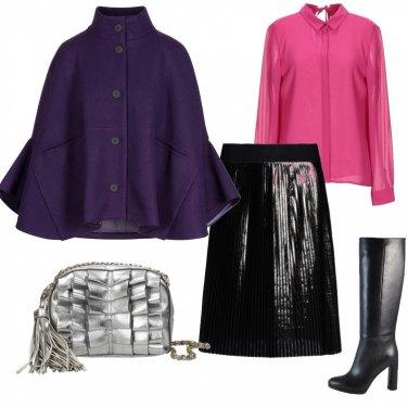 Outfit Color block (la gonna é un affare!)