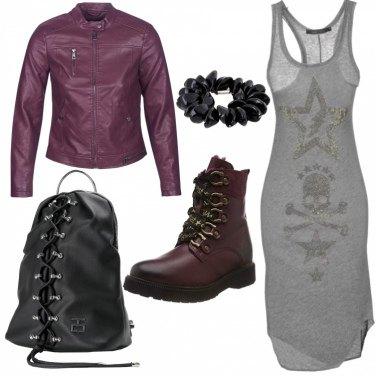 Outfit Rock no black