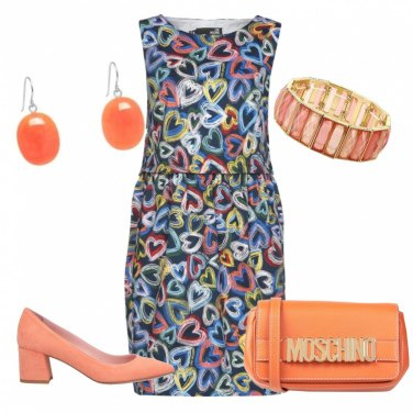 Outfit Tocchi di arancio