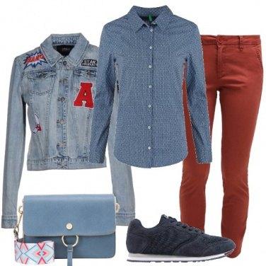 Outfit La borsa a tracolla