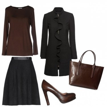 Outfit Parure brown...