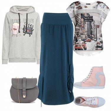 Outfit Urban in felpa