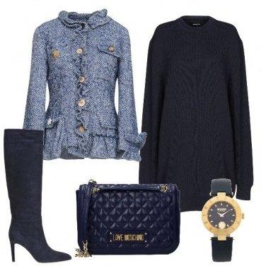 Outfit Abito in maglia