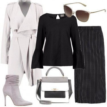 Outfit Bianconero a volonta\'