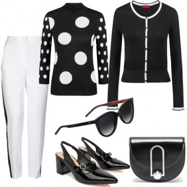 Outfit Nel mio stile: Sporty chic in B&W