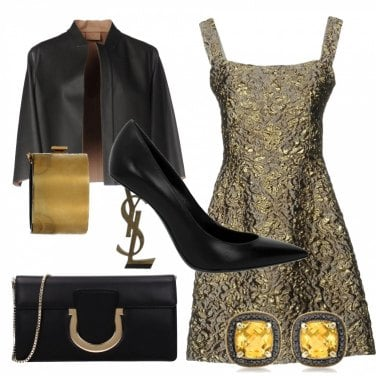 Outfit Gold-rock!